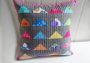 Úžitkový textil - Modernology ... No.3  ( ružový lem) - 9596858_