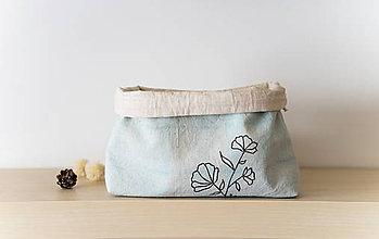 Taštičky - košík alebo kozmetická taška - 9596809_
