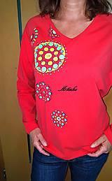 Tričká - Tričko maľované - mandalky  - 9595174_