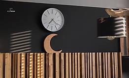 Dekorácie - wood moon - 9597277_