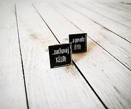 Šperky - Manžetové gombíky - 9596029_