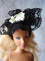 Hračky - Barbie - gumička-čelenka čierna (Modrá) - 9595235_