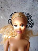 Hračky - Barbie - gumička-čelenka čierna (Modrá) - 9595238_