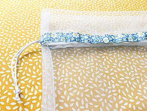 Úžitkový textil - vrecko miesto igelitky S - 9594888_