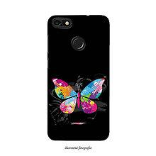 Na mobil - Kryt s motívom motýľa pre Apple, Huawei, Samsung - 9596203_