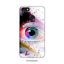 Na mobil - Kryt s motívom oka pre Apple, Huawei, Samsung - 9596290_