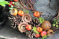 Dekorácie - Venček s čerešňami - 9598692_