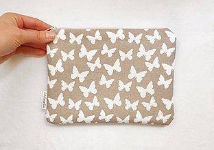 Taštičky - Taštička väčšia - Let motýľov - 9598155_