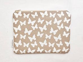 Taštičky - Taštička väčšia - Let motýľov - 9598158_