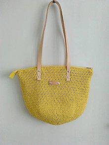 Veľké tašky - Dark Citronella - 9598302_