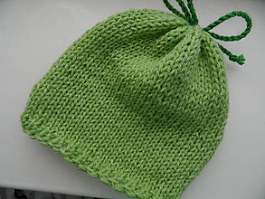 Detské čiapky - miničiapočka pre novorodenca - 9597961_
