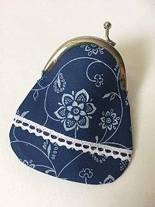 Peňaženky - modra-mini-peňaženka - 9599677_