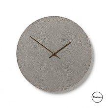 Hodiny - Betónové hodiny Clockies CL300102 - 9597362_