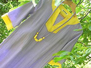 Šaty - Tunikové šaty - 9598036_