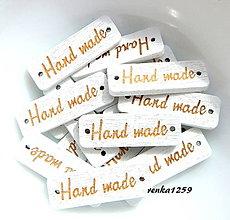 Galantéria - Gombík HAND MADE - 9599402_