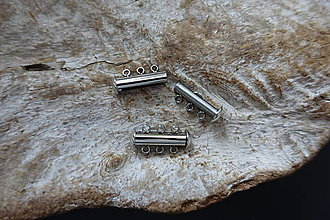 Komponenty - Zapínanie -stainless steel- 2 - 9598734_