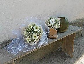 Dekorácie - svadobný set: Konvalinkový  ♡.... 5ks - 9600042_