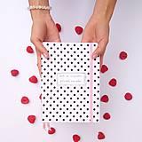Papiernictvo - ZÁPISNÍK bodkáč (ľubovoľný nápis) (A5 (väčší), 100 listov) - 9601886_