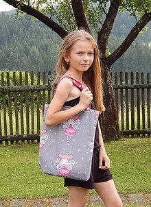 Detské tašky - Detská nákupná taška - VÍLA - 9601493_