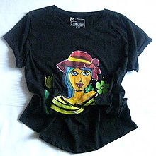Tričká - V klobúčiku - 9600707_