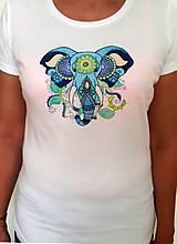 Slon na tričku