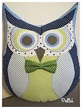 Úžitkový textil - sovička - 9602223_