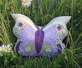 Textil - motýlik - 9600557_