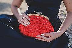 Kabelky - Oranžovo - červená kabelka - 9601800_