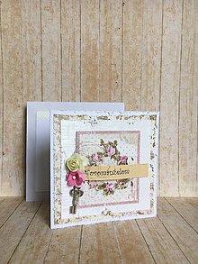 Papiernictvo - Svadobná pohľadnica - Forever - 9600741_