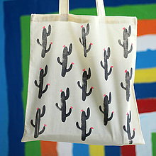 Nákupné tašky - Kaktuska I. - 9600504_