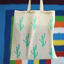 Nákupné tašky - Kaktuska II. - 9600511_