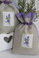 Vrecká na bylinky...levanduľa