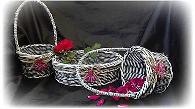 Pierka - Svadobné košíky - 9602125_