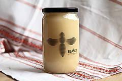 - Pastovaný krémový med z prvých jarných kvetov 950 g - 9602526_