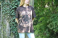 Tričká - Batikované unisex tričko XL - 9601935_