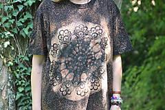 Tričká - Batikované unisex tričko XL - 9601936_