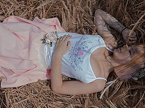 """Tielka - Tielko s autorským motívom """"Provence"""" - 9601594_"""