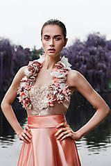 Šaty - From Ivory to light Pink I. - 9601320_
