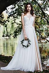 Šaty - From Ivory to light Pink V. - 9602098_