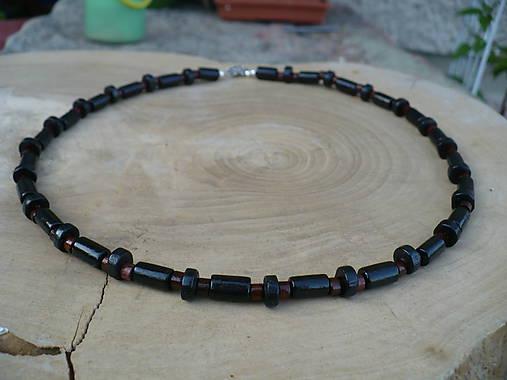 Pánsky drevený náhrdelník   24nika - SAShE.sk - Handmade Náhrdelníky f8f0455ad17