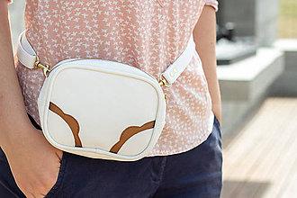 Iné tašky - Mini kabelka na pas (ledvinka) - 9604712_