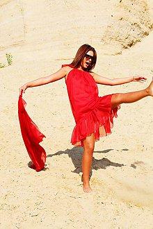 Šaty - Red joy - 9603458_