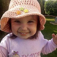 Detské čiapky - detský klobúčík - 9603544_