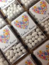 Darčeky pre svadobčanov - Svadobné cukríky TIK-TAK  - 9594408_