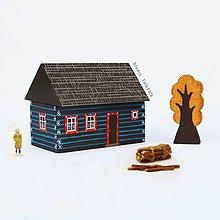 Dekorácie - Miniatúrny dvor zo Ždiaru - 9604317_