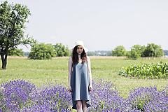Šaty - Zelené letné šaty - 9604699_