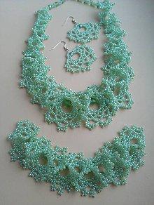 Sady šperkov - Morský vánok sada šperkou - 9604925_