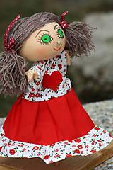Maňuška. Bábika Dievčatko Káča.