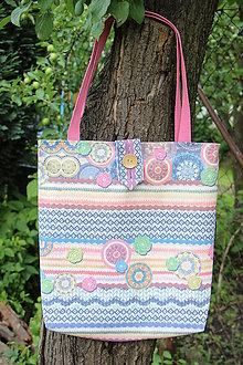 Nákupné tašky - Taška- Jako pletená 3. - 9604031_