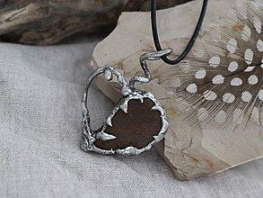 Náhrdelníky - Divoké srdce - 9604337_